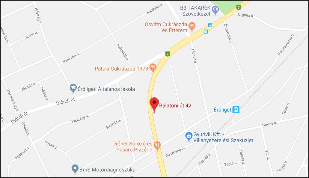 Őszi Romantika Nyugdíjasház-Panzió-2030 Érd Balatoni út 38-42